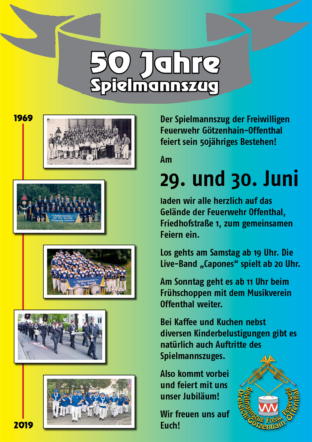 50 Jahre Spielmannszug Götzenhain-Offenthal